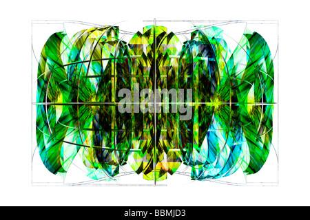Graphical design (Digital Composite) - Stock Photo