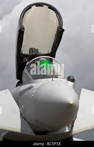 BAe Bae systems Typhoon RAF fighter - Stock Photo
