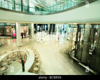 westfield shopping complex, west london - Stock Photo