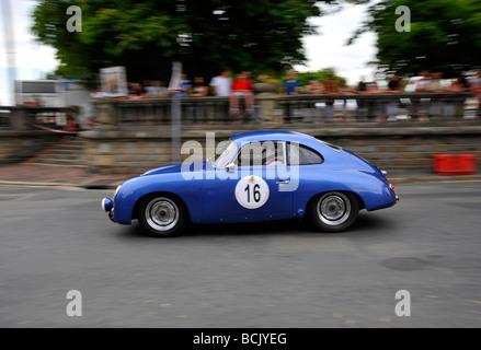 Historic grand prix Bressuire France - Stock Photo