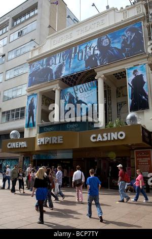 Empire Cinema in Leicester Square - Stock Photo