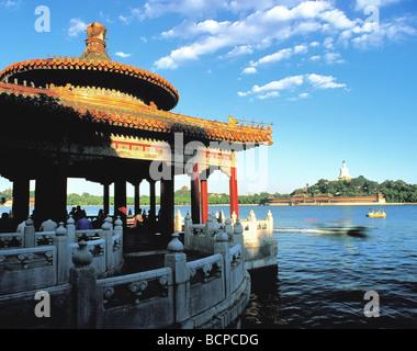 Beihai Park, Beijing, China - Stock Photo