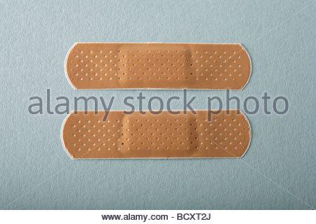 sticking plasters - Stock Photo