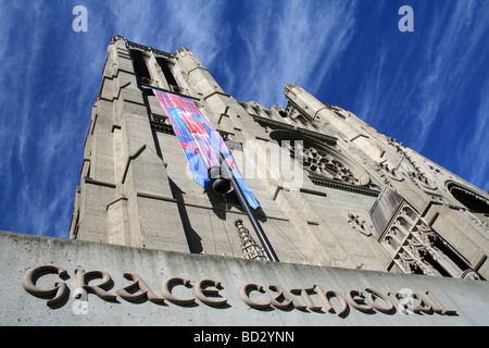 grace cathedral - Stock Photo