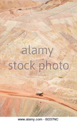 Morenci Mine Complex Freeport McMoRan Copper & Gold Arizona - Stock Photo
