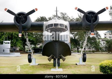 Royal Thai Navy Museum in Samut Prakan Thailand - Stock Photo
