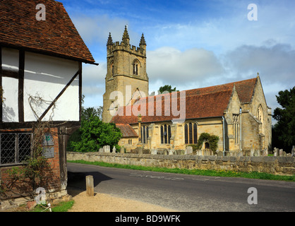 St Marys Church Chiddingstone, Kent, England, UK. - Stock Photo