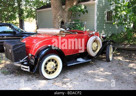 1930 Ford Model A, Sag Harbor, Long Island NY - Stock Photo