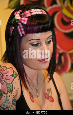 Tattoo Convention, Capetown, South Africa - Stock Photo