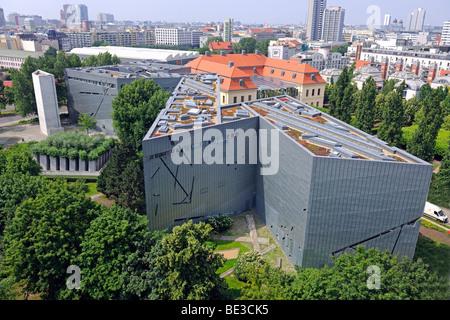 Jewish Museum, new building by Daniel Libeskind, Berlin, Germany, Europe - Stock Photo