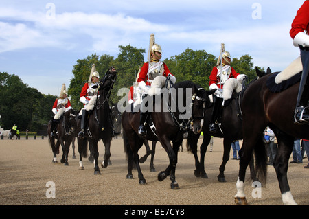 Changing of the Guard, Horse Guards Parade, London, England, UK - Stock Photo