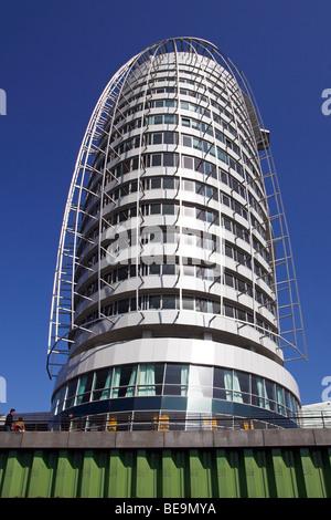 Atlantic Hotel Sail City / Bremerhaven - Stock Photo