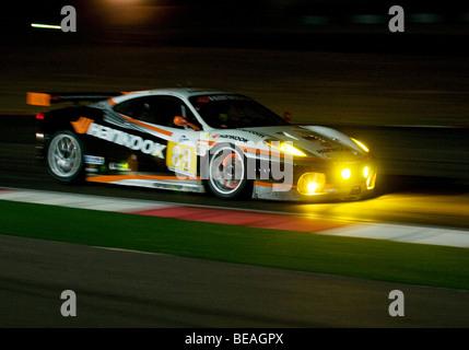 The Le Mans Series 1000km of the Algarve taking place during the night at the Autódromo Internacional do Algarve, - Stock Photo