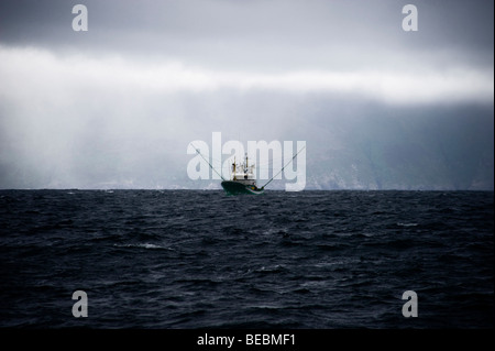 Fishing boat, Dingle Peninsula, Co Kerry, Ireland - Stock Photo