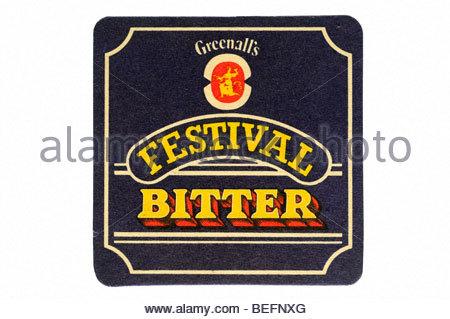 greenallis festival bitter - Stock Photo