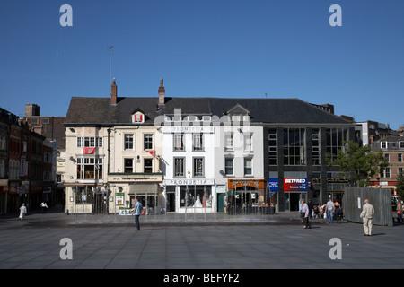 williamson square in liverpool city centre liverpool merseyside england uk - Stock Photo