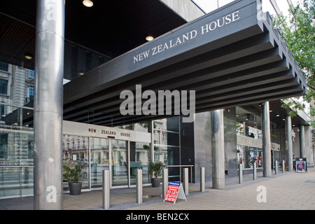 New Zealand House, Haymarket, London, England Thursday, July 09, 2009. - Stock Photo