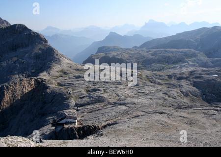 Pale di San Martino plateau altopiano, Trentino, Italian Dolomites summer - Stock Photo