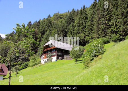 Farmhouse at the Hexenloch, Black Forest, Baden-Wurttemburg, Germany - Stock Photo