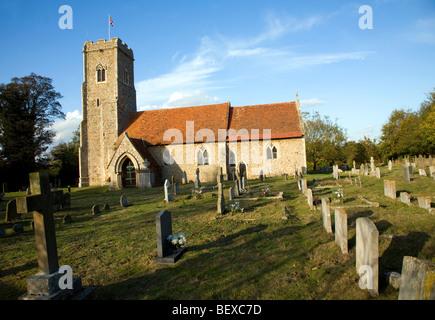 St Margaret's church Shottisham Suffolk England - Stock Photo