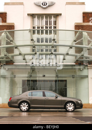 Bentley Continental Flying Spur motor car - Stock Photo