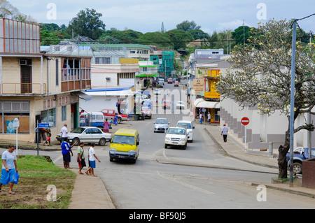 Port Vila Vanuatu Street Stock Photo 24709466 Alamy