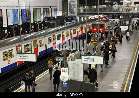 London Underground Earls Court Station, London, England, UK. - Stock Photo