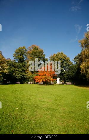 Waterlow Park, Highgate, London, UK - Stock Photo