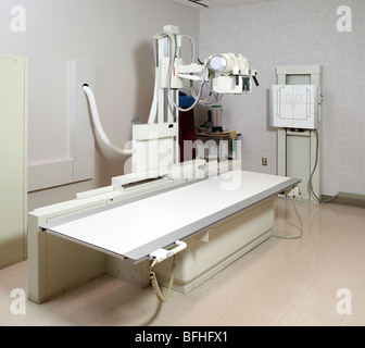 X Ray Machine In Hospital - Stock Photo