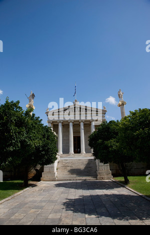 The Academy of Athens, Athens, Greece, Europe - Stock Photo