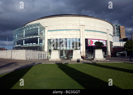 The Waterfront Hall in Belfast, Northern Ireland, United Kingdom, Europe - Stock Photo