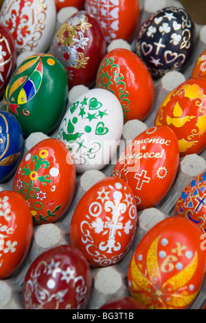 Painted eggs, Sofia, Bulgaria, Europe - Stock Photo