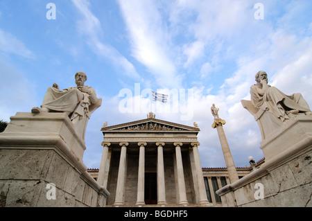 Academy of Arts, Athens, Greece, Europe - Stock Photo