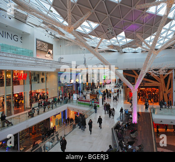 Westfield Shopping Centre. - Stock Photo