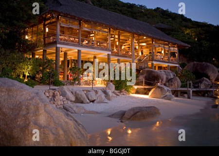 Evasion Hideaway Hotel in Nha Trang, Vietnam - Stock Photo