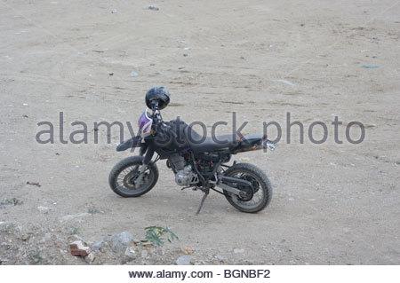 MOTORBIKE STUNTS Germany stunrman stunt - Stock Photo