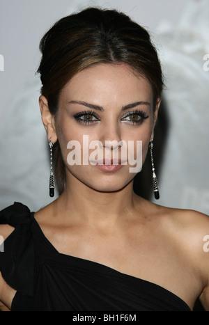 MILA KUNIS ACTRESS HOLLYWOOD  LOS ANGELES  CA  USA 11/01/2010 - Stock Photo