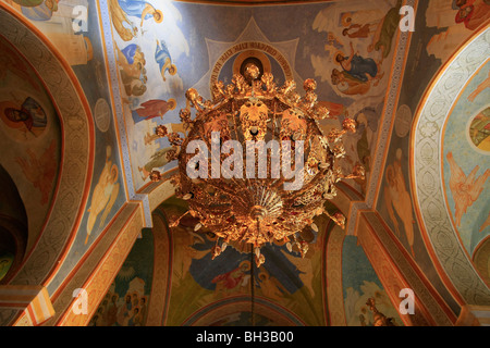 Israel, Nazareth, the Greek Orthodox Church of the Annunciation, the Church of St. Gabriel - Stock Photo