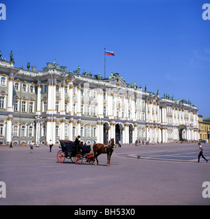 State Hermitage Museum, Palace Square, St.Petersburg, Russia - Stock Photo