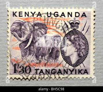 Kenya Postage Stamp. - Stock Photo