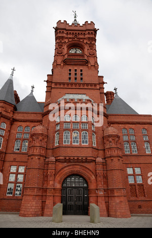 exterior of the pierhead building a grade 1 listed building one of cardiff's most familiar landmark cardiff bay - Stock Photo