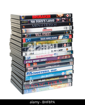 DVDs - Stock Photo