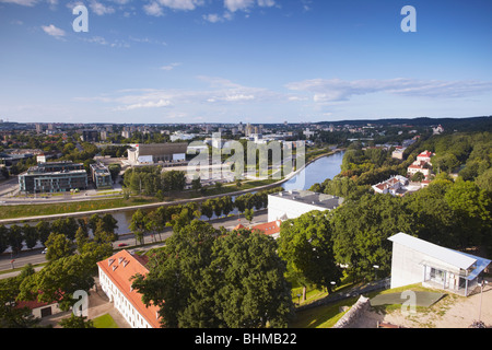 View Of Business District, Vilnius, Lithuania, Baltic States, Eastern Europe - Stock Photo