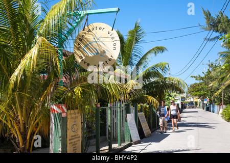 Utila, Bay Islands, Honduras - Stock Photo