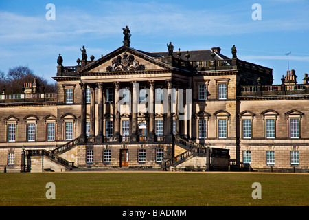 the mansion house on the wentworth woodhouse estate wentworth south yorkshire england UK - Stock Photo