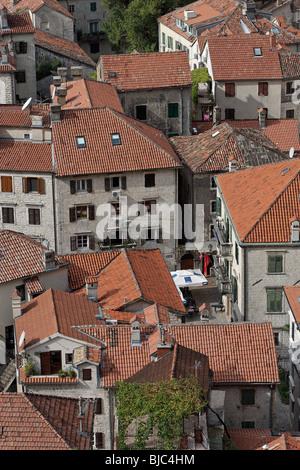 Kotor,old town,Montenegro - Stock Photo