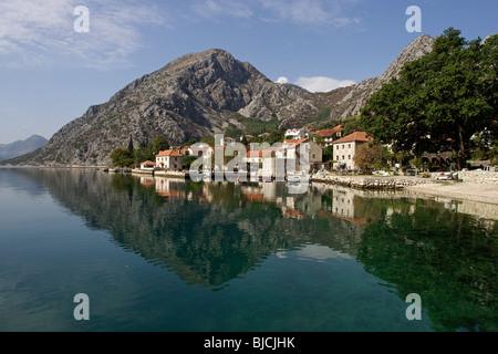 near Perast,Kotor Bay,Montenegro - Stock Photo