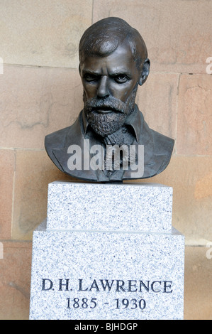 D.H.Lawrence 11 sept 1885 to 2 March 1930.Poet,Novelist,Playwright. - Stock Photo