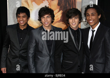 ALLSTAR WEEKEND THE LAST SONG WORLD PREMIERE HOLLYWOOD LOS ANGELES CA USA 25 March 2010 - Stock Photo