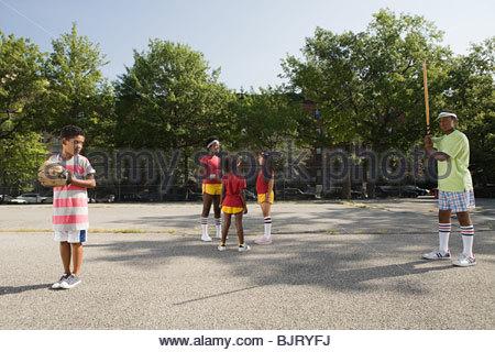 Kids in playground - Stock Photo